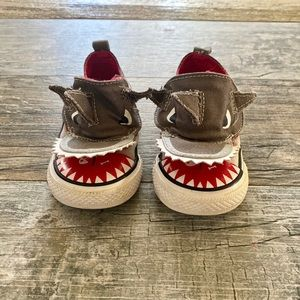 Toddler Sz 6 Shark Converse! Good Used Condition!